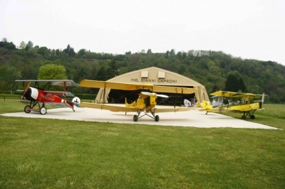 Jonathan Collection Caproni Ca.3 Airworthy Replica Project Well Underway