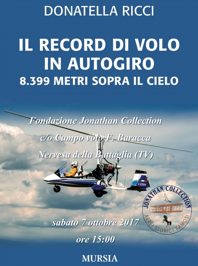 RECORD DI VOLO IN AUTOGIRO